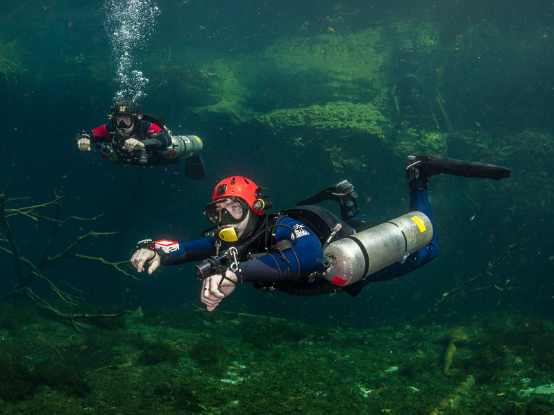DIVE WITH LOCAL EXPLORERS